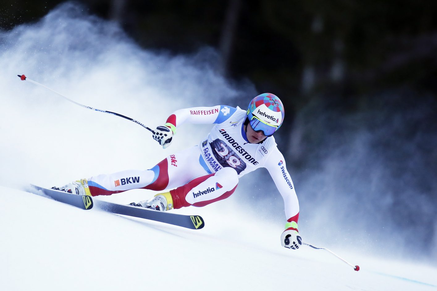 Audi FIS Alpine Ski World Cup - Men's Downhill Getty Images
