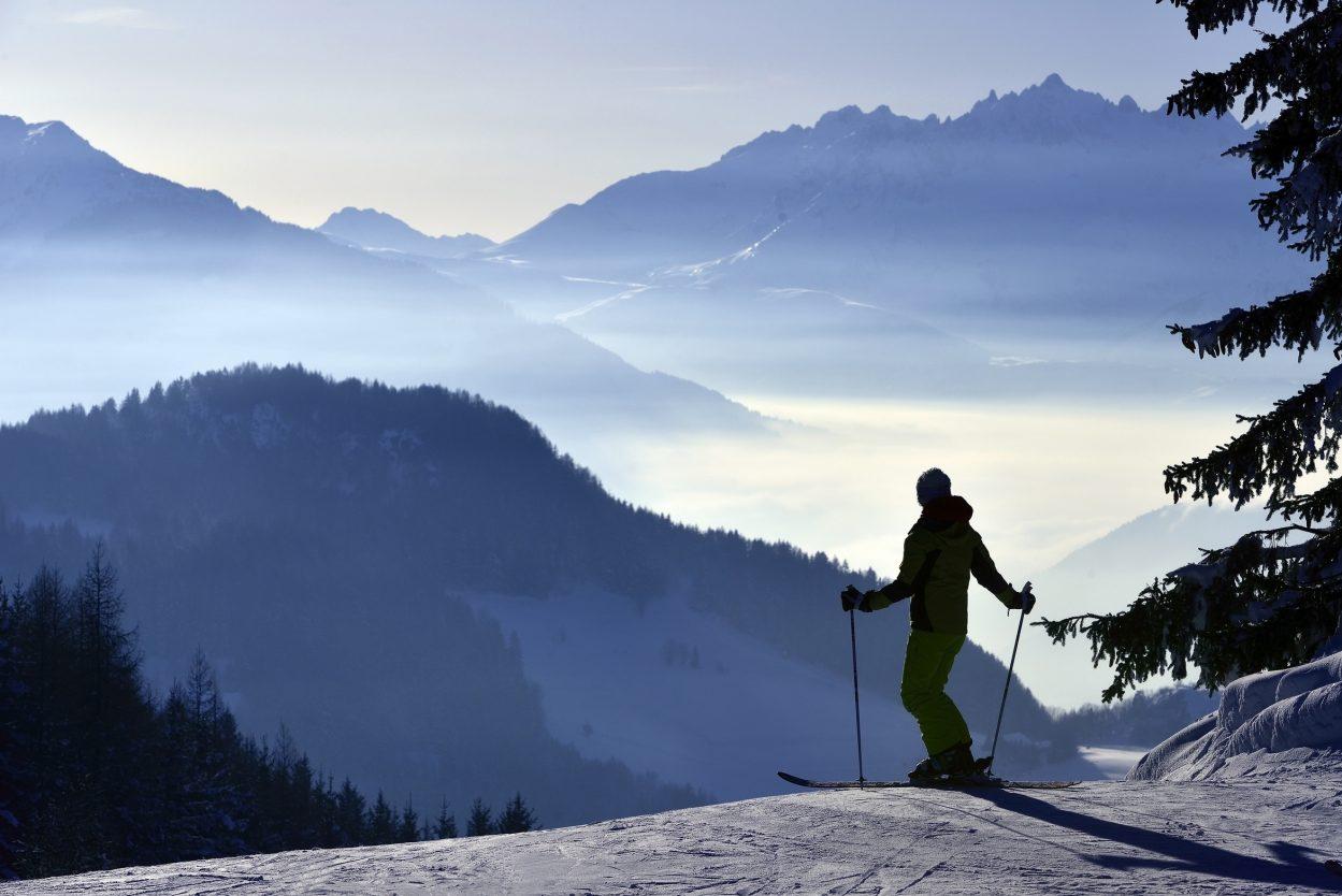 Fin de journee sur le domaine de Montalbert, Savoie, France, MR PHILIPPE ROYER