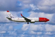 Norwegian Air Shuttle Boeing 737-800 NurPhoto via Getty Images