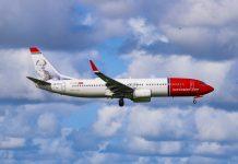 Norwegian Air Shuttle Boeing 737-800 NurPhoto via Getty Images